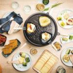 Raclette party revisited Maki's van prei met rauwe ham en raclettekaas
